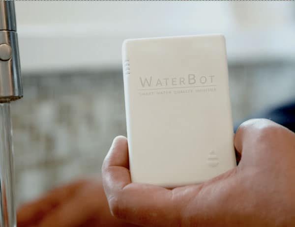Waterbot water quality monitoring system