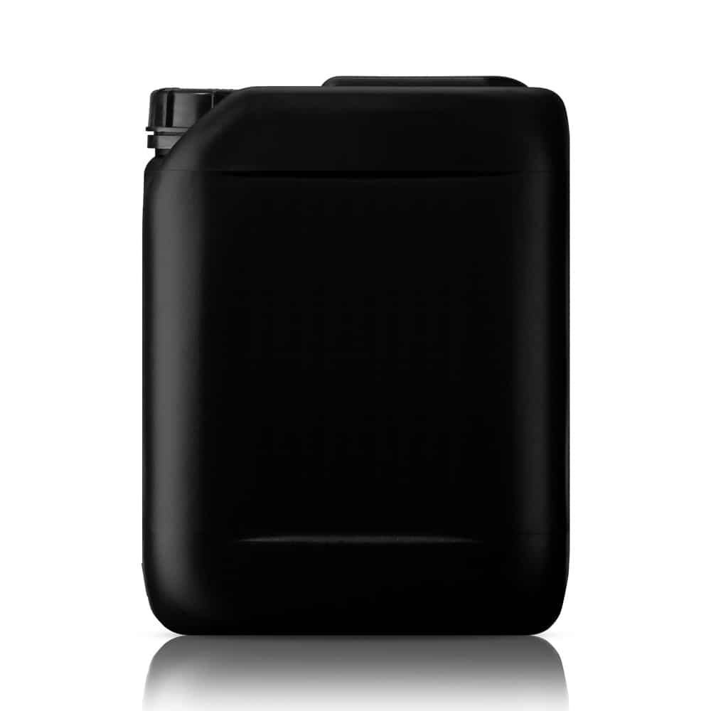 black jerrycan for water heating